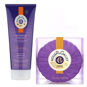 ROGER&GALLET BATH AND SHOWER GEL + LUXARY SOAP